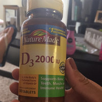 Nature Made Vitamin D3 2000 IU uploaded by Yamil S.