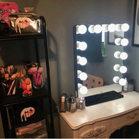 Impressions Vanity Co. Hollywood Glow(TM) Plus Vanity Mirror, Size One Size - Glossy White uploaded by Genevieve I.