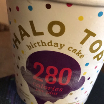 Photo of Halo Top Birthday Cake Ice Cream uploaded by Portia H.
