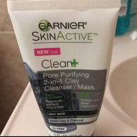 Garnier Skin Skinactive Clean Plus Pore Purifying 2-In-1 Clay Cleanser/Mask uploaded by Jennie V.