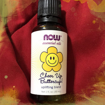 Photo of NOW Essential Oils Cheer Up ButterCup Uplifting Blend, 1 fl oz uploaded by Misty G.