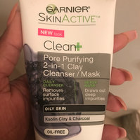 Garnier Skin Skinactive Clean Plus Pore Purifying 2-In-1 Clay Cleanser/Mask uploaded by Tasheba J.