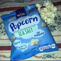 Wise Air Popped Gluten Free Whole Grain 30% Reduce Fat Sea Salt Popcorn uploaded by Widienne B.