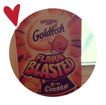 Photo of Goldfish® Flavor Blasted Xtra Cheddar Baked Snack Crackers uploaded by Danielle S.
