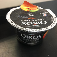 Dannon Oikos Triple Zero Nonfat Yogurt Peach uploaded by LaTayia A.
