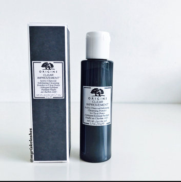Origins Clear Improvement Active Charcoal Exfoliating Cleansing Powder to Clear Pores uploaded by Cassandra R.
