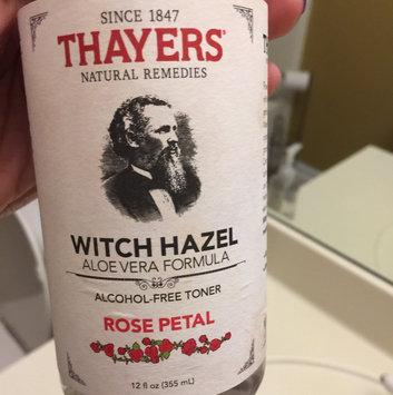 Thayers Alcohol-Free Rose Petal Witch Hazel Toner uploaded by Tatianna J.