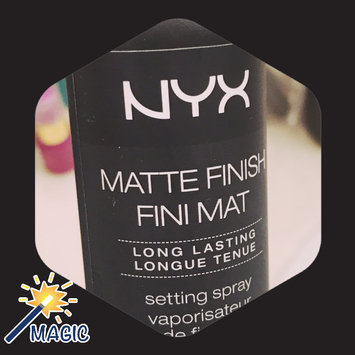 NYX Cosmetics Makeup Setting Spray - Matte Finish uploaded by Shelby H.