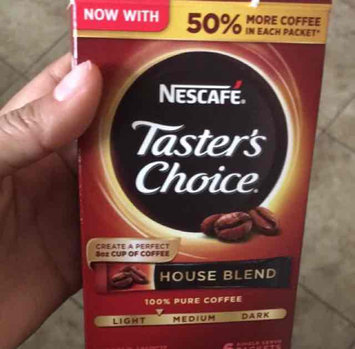 Photo of NESCAFÉ Taster's Choice House Blend Single Serve Packets uploaded by Tania R.