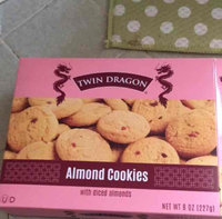Dollaritem Wholesale Twin Dragon Almond Cookies 8Z*9M -Sold by 1 Case of 24 Pieces uploaded by Tania R.