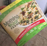 MorningStar Farms® Veggie Bowls Mushroom & Asparagus Orzo Veggie Entree 9 oz. Box uploaded by Tania R.