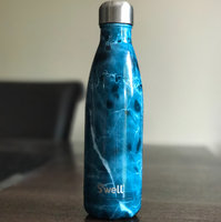 S'well 'Elements Collection - Blue Marble' Stainless Steel Water Bottle, Size 17 oz - Blue uploaded by Scarleth N.