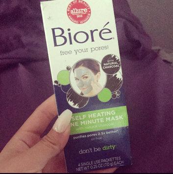 Photo of Biore® Self Heating One Minute Mask 0.25 oz. Box uploaded by Melissa V.