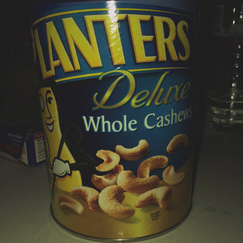 Photo of Planters Deluxe Whole Cashews Can uploaded by Emily E.