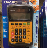Casio Basic Calculator - Yellow (WM-320MT) uploaded by Deborah C.