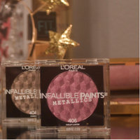 L'Oreal Paris Infallible Eye Paints Metallics 408 Aluminium Foil - 0.25oz, Green uploaded by Jadiena D.