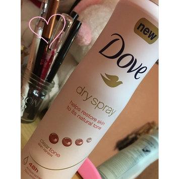 Dove Dry Spray Antiperspirant, Clear Tone Skin Renew, 3.8 oz uploaded by Priscilla B.