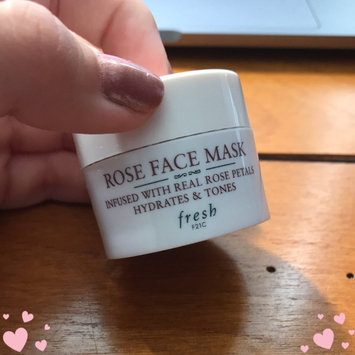 Fresh Rose Face Mask uploaded by Ana Luiza D.