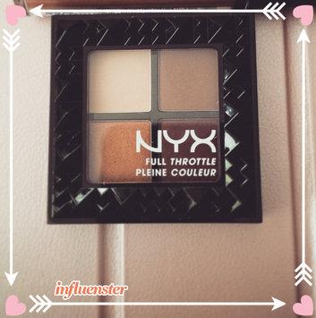 NYX Cosmetics Full Throttle Shadow Palette uploaded by Jasmin V.