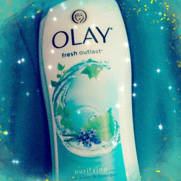 Photo of Fresh Outlast Olay Fresh Outlast Purifying Birch & Lavender Body Wash 22 oz uploaded by Sarah V.