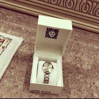 Women's Anne Klein Diamond Marker Bangle Watch, 28mm - Ivory/ Gold uploaded by بيآن ا.