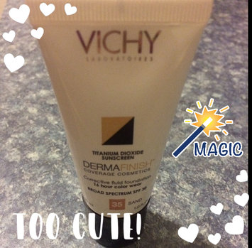 Photo of Vichy Dermablend Fluid Corrective Foundation 35 Sand 30ml uploaded by Mari C.