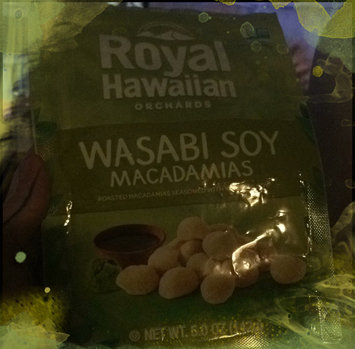 Royal Hawaiian Orchards Macadamias Wasabi Soy 5 oz uploaded by Ella P.