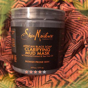 SheaMoisture African Black Soap Clarifying Mud Mask uploaded by Katrina P.