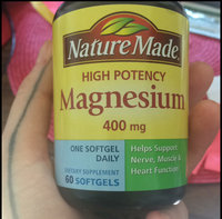 Nature Made Magnesium 400mg High Potency Liquid Softgels - 60 CT uploaded by Ella P.