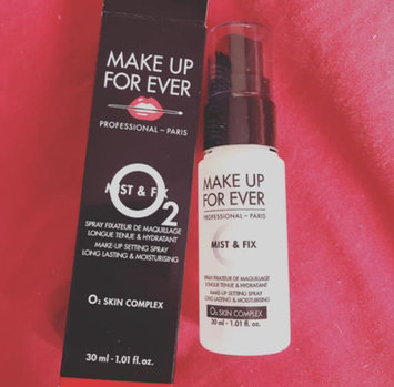 MAKE UP FOR EVER Mist & Fix Setting Spray uploaded by Rania Z.