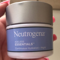 Neutrogena® Ageless Essentials Continuous Hydration Night Moisturizers uploaded by Savannah C.