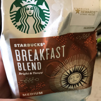 Starbucks Coffee Starbucks Breakfast Blend Medium Roast Ground Coffee 12 oz uploaded by Amber b.