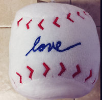 ED Ellen DeGeneres Love Baseball Dog Toy - Plush uploaded by Katherine V.