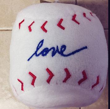 ED Ellen DeGeneres Love Baseball Dog Toy - Plush uploaded by Katherine V.