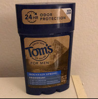 Tom's OF MAINE Mountain Spring Men's Long Lasting Wide Stick Deodorant uploaded by Tony B.