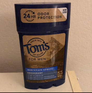 Photo of Tom's OF MAINE Mountain Spring Men's Long Lasting Wide Stick Deodorant uploaded by Tony B.