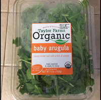 Taylor Farms Organic Baby Arugula 5 oz uploaded by Katherine V.