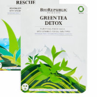 BioRepublic Skincare Green Tea Detox Purifying Fiber Mask Set uploaded by Ainsley L.