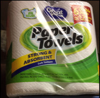 Great Value Big Sheet Double Roll Paper Towels, White, 96 sheets, 6 rolls uploaded by Katherine V.