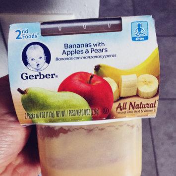 Gerber 2nd Foods Banana Apple Pear 8 Oz Sleeve uploaded by Vane G.