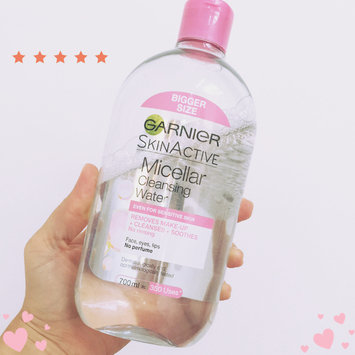 L'Oreal Garnier Skin Micellar Cleansing Water 400 ml by HealthMarket uploaded by Emily V.
