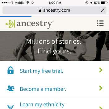 Ancestry.com uploaded by Chauntyele T.