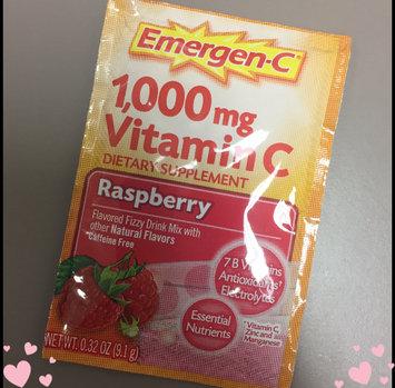 Photo of Emergen-C 1,000 mg Vitamin C Raspberry uploaded by Whenyousayitlikethat s.