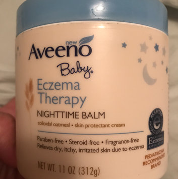 Aveeno Baby® Eczema Therapy Nighttime Balm Skin Protectant Cream 11 oz. Plastic Tub uploaded by L C.