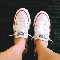 Converse Womens Chuck Taylor Shoreline Shoes-9,WHITE uploaded by Elise S.