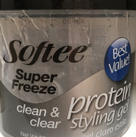 Softee Super Freeze Protein Styling Gel Best Value Clean and Clear 8 Oz uploaded by Pilar G.