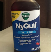 Vicks Nyquil Alcohol Free Cold & Flu Nighttime Relief Liquid uploaded by Pilar G.