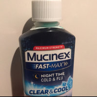 Mucinex® Fast-Max® Clear & Cool™ Maximum Strength Night Time Cold & Flu 6 fl. oz. Bottle uploaded by Tayonna P.