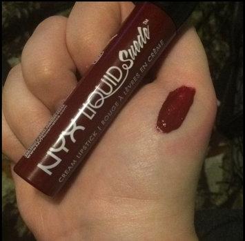 NYX Cosmetics Liquid Suede Cream Lipstick uploaded by Ciara M.