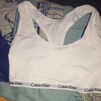 Calvin Klein Modern Cotton Bralette-WHITE-Small uploaded by Alysha R.
